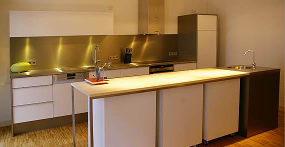 Küchenzeile Parallel ~ tischlerei aus hof in oberfranken